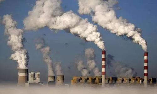 火力发电焚烧的过程中产生大量的二氧化碳等有害气体